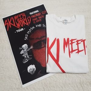 SKI MEETS WORLD TOUR MERCH SKI MASK THE SLUMP GOD